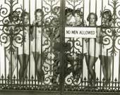 žádní muži povoleno