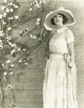 Young Woman Springtime
