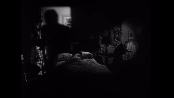 Stín směrem k žena spící