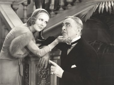 Woman Flirting with her sugar daddy