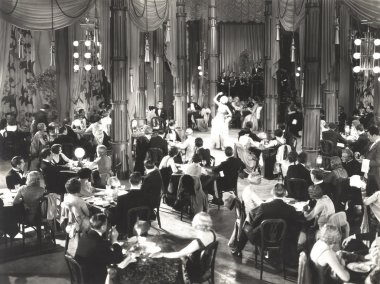 People dancing indoors