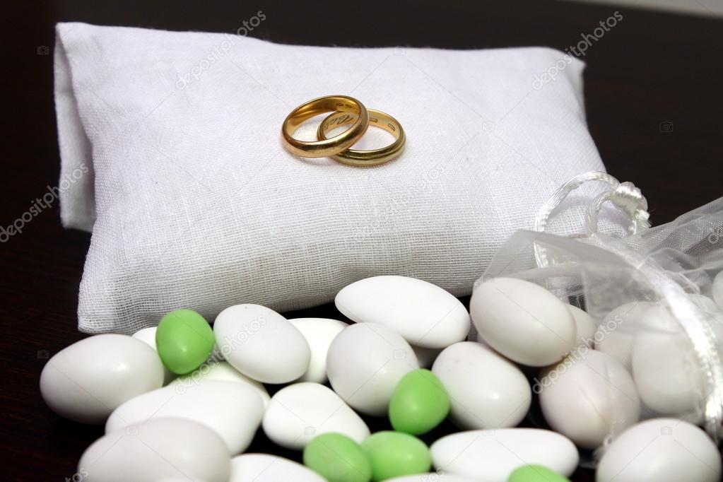 Hochzeitsbevorzugungen Stockfoto C Carlovilla 72080113