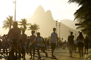 Brazilians Skateboarding Rio de Janeiro Brazil