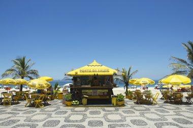 Ipanema Beach Boardwalk Kiosk