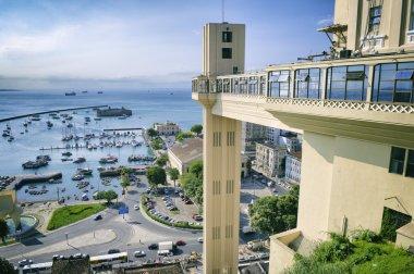 Salvador Bahia Skyline Lacerda Elevator