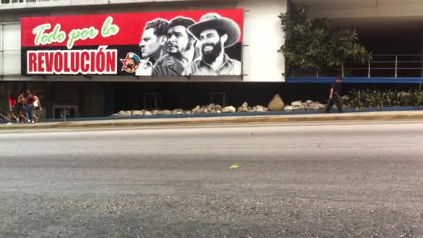 Communist Propaganda Billboard Havana Cuba Street