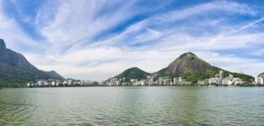 Rio de Janeiro Brazil Scenic Panorama at Lagoa