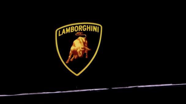 Lamborghini Logo Händler Showroom Salon Garage Luxus-Sportwagen-Marke