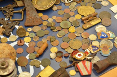 Antique coins and Orders