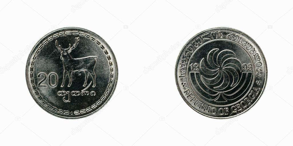 Монета грузии 20 фибулы цена