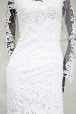 Sheath dress bride