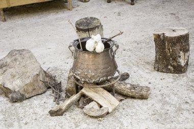 Witchcraft cauldron