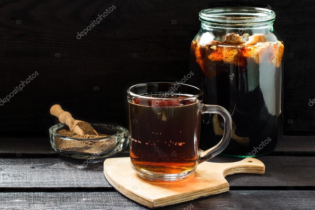 Traditionelle russische Getränk Kwas — Stockfoto © 13-Smile #104581208