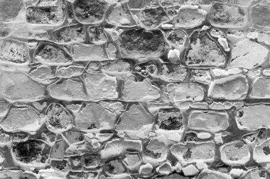 Background Finishing by decorative stones