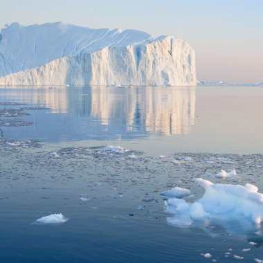 Nature and landscapes of Greenland.
