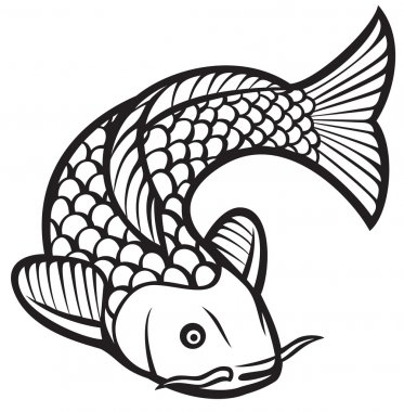 Download Coy Fish Free Vector Eps Cdr Ai Svg Vector Illustration Graphic Art