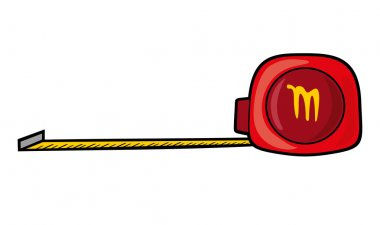 Roll-up tape measure