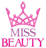 Fotografie Miss beauty text