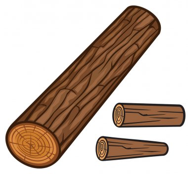lumber wooden logs