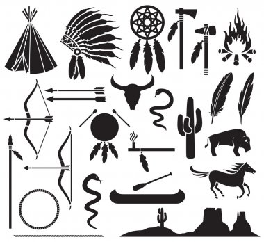 american indians icons