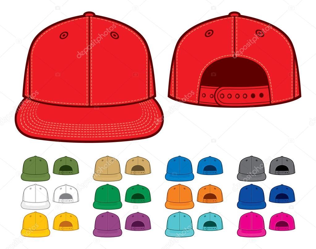f73605db350bd gorras de rap color — Archivo Imágenes Vectoriales © Tribaliumivanka ...