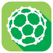 Molekulární struktura buckyball c60