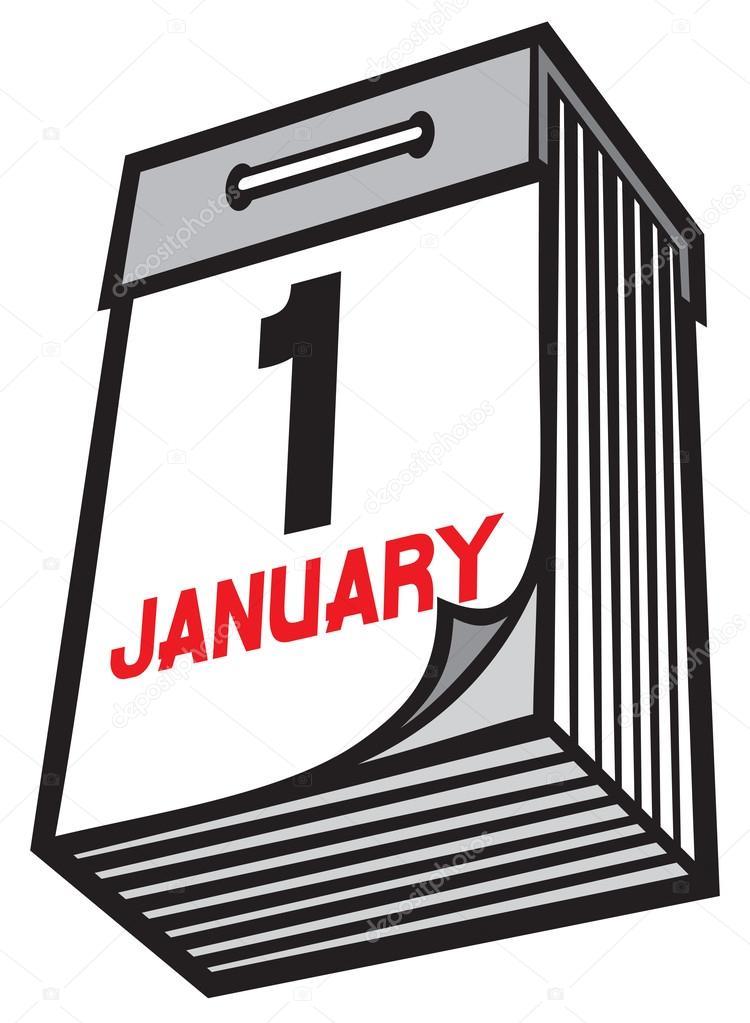 Calendario A Strappo.Vettore Strappo Disegno Disegno Di Nuovo Anno Del