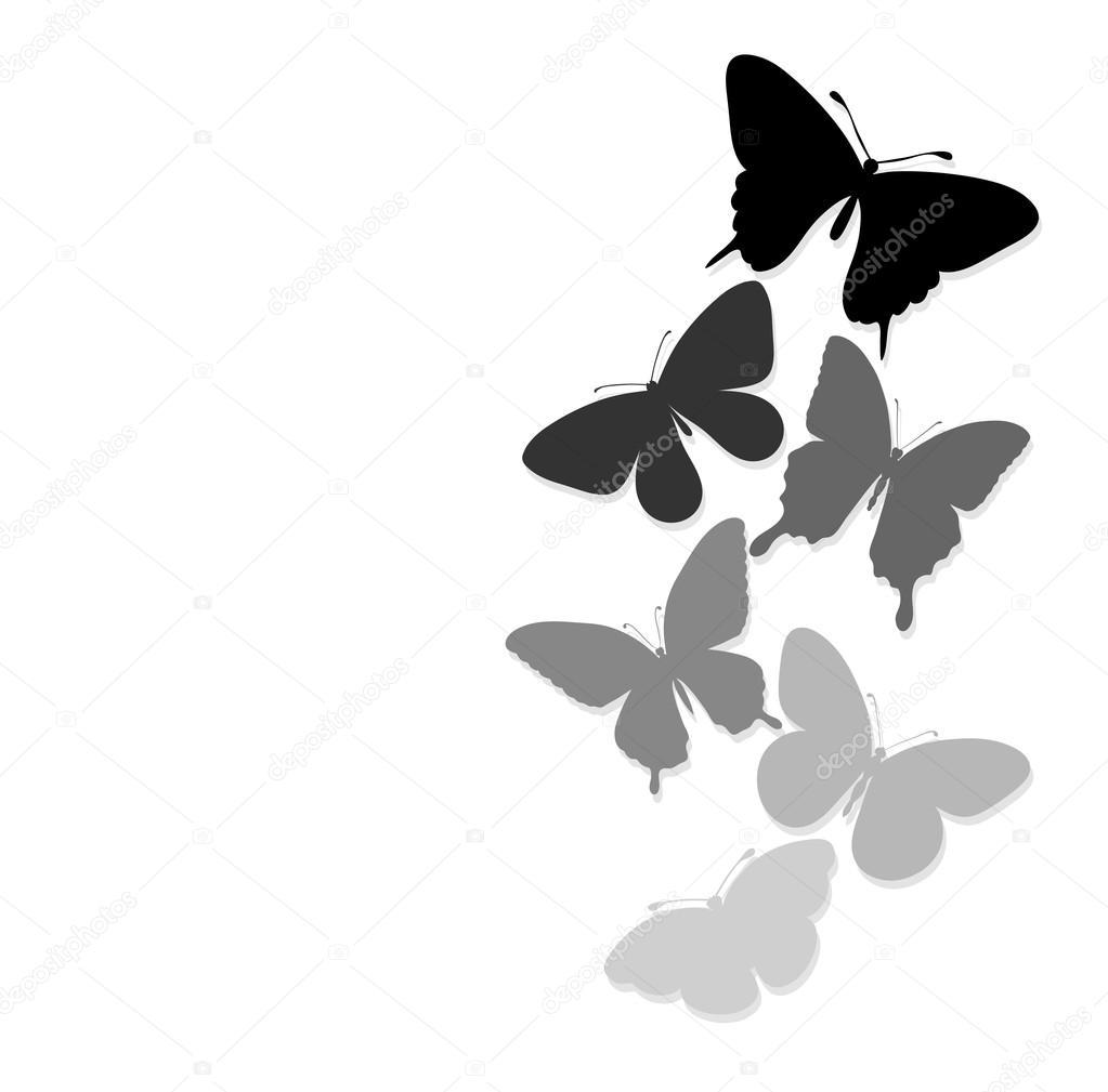 Imágenes Tarjetas De Mariposas Con Mensajes Frontera De Mariposas