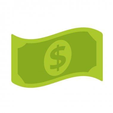 Vector Dollar Bill Flat Icon