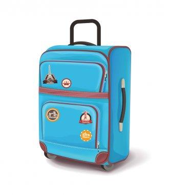 Travel bag. Vector illustration