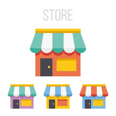 Vector store icons