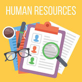 Fotografie Human resources. Search for candidate process