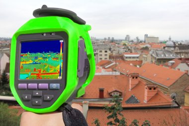 Recording Zagreb With Thermal Camera