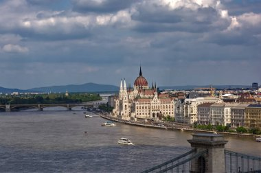 The Hungarian Parliament Building in city of Budapest, Parliament of Budapest Hungary