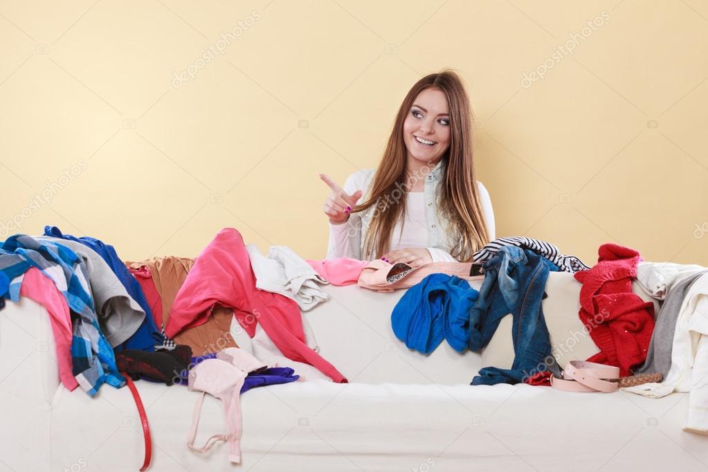 почему у женщины грязно в доме