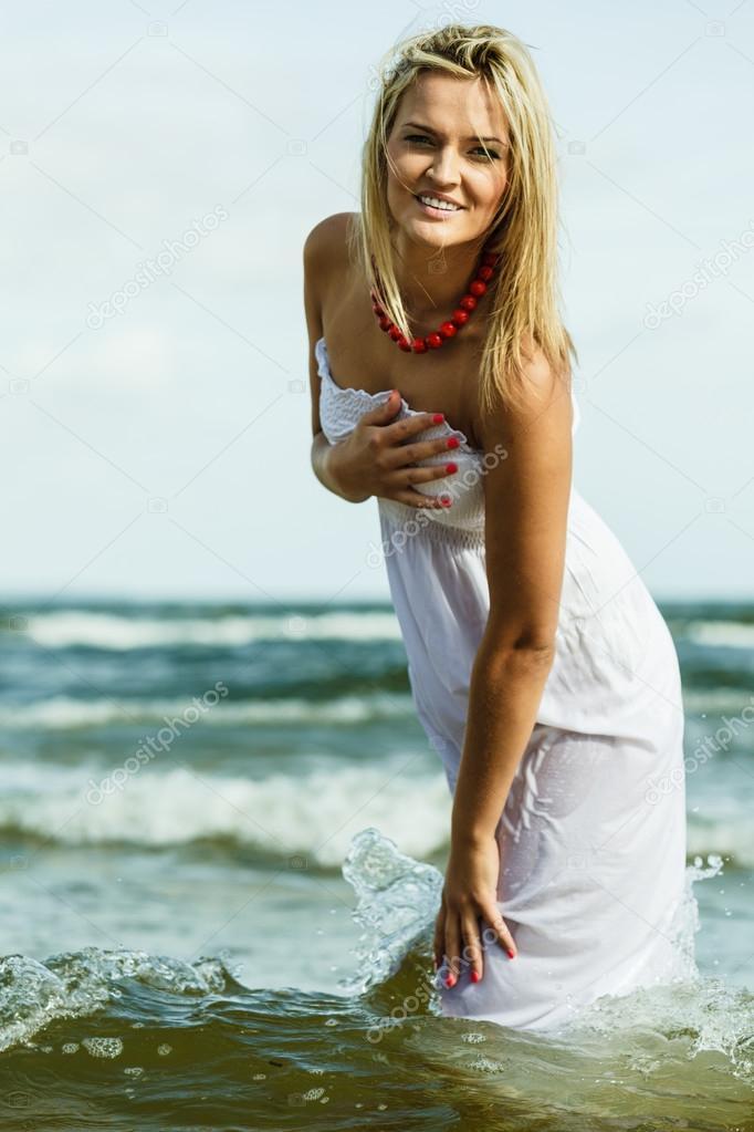 Gorące nagie blondynki nastolatki
