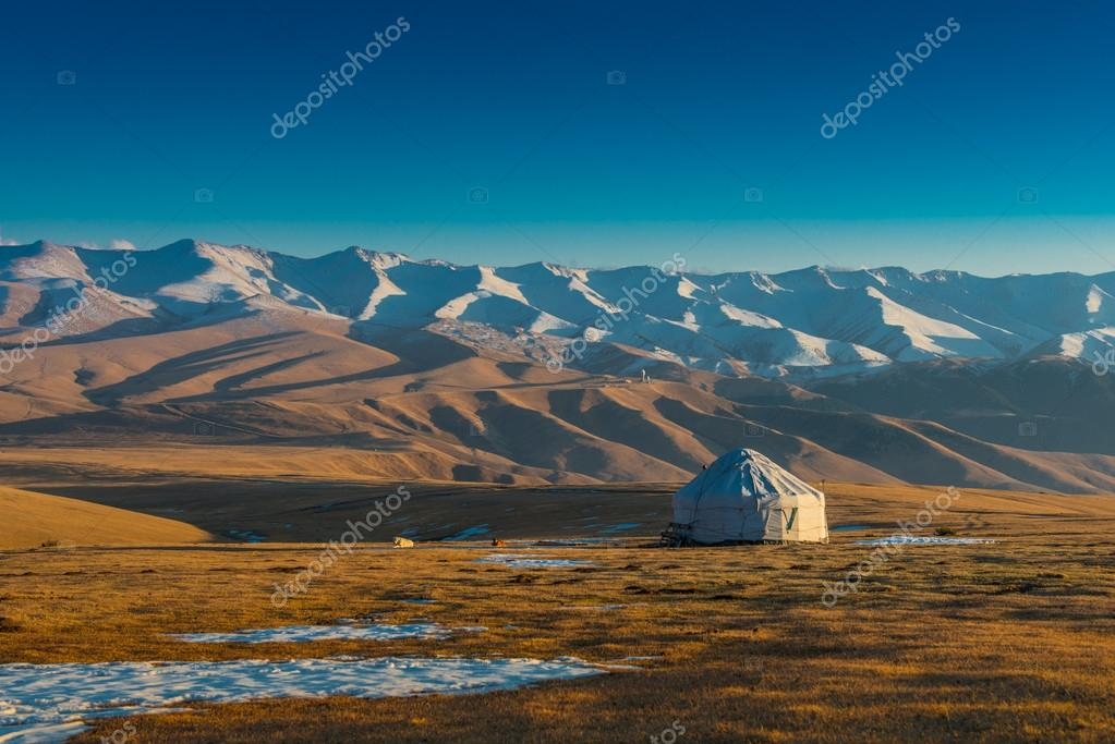Yurt at the silk road