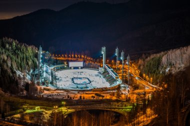 Medeo (Medeu) rink in Almaty