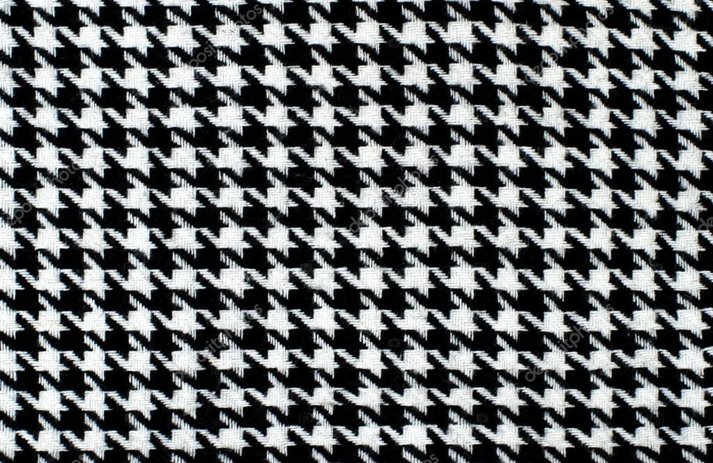 Motif pied de poule noir et blanc photographie luanateutzi 64021879 - Motif pied de poule ...