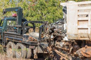 salvage car accident