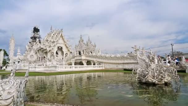 Wat Rong Khun (white temple) ,Chiang rai, Thailand