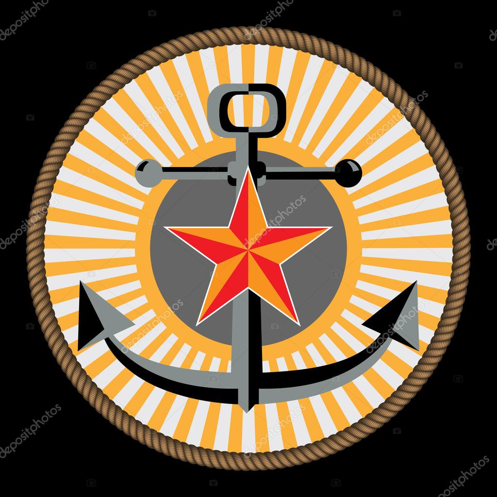 Navy And Marine Corp Emblem Stock Vector Omur12 64365213