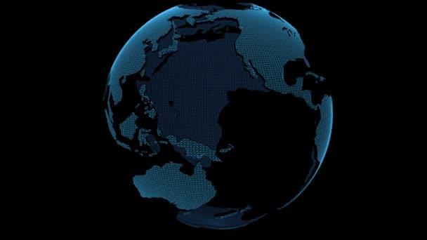 Globe smyčky rotace