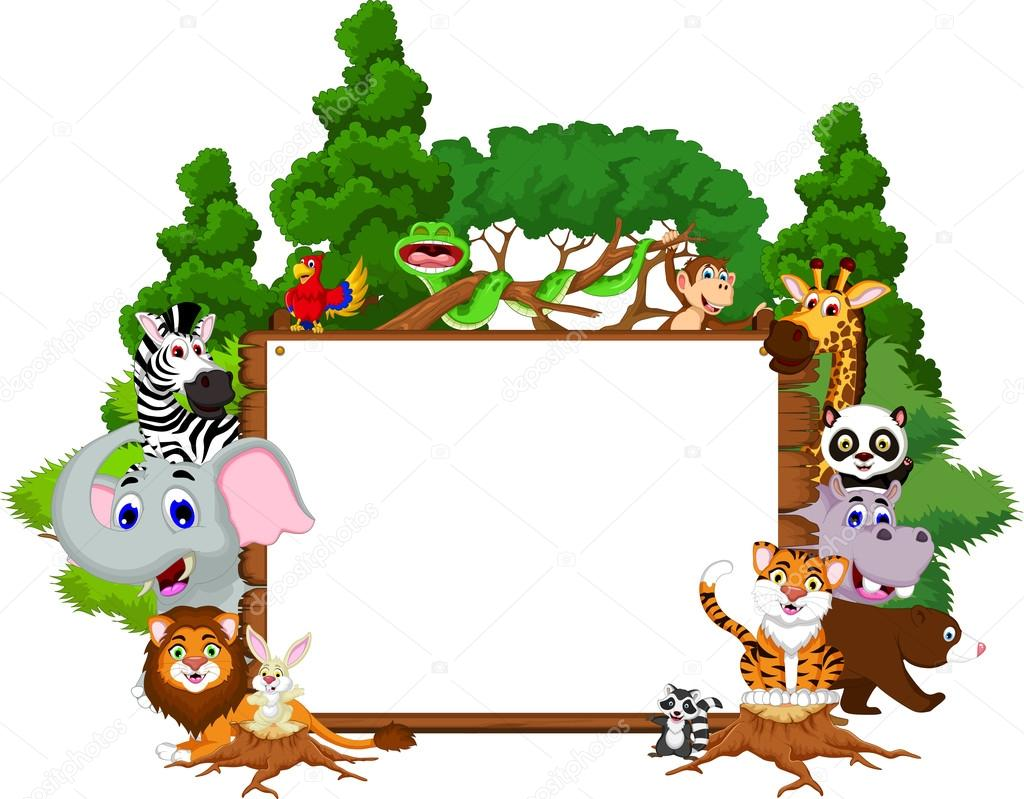 Fondos De Animales Animados: Dibujos: Bosque Tropical Animados