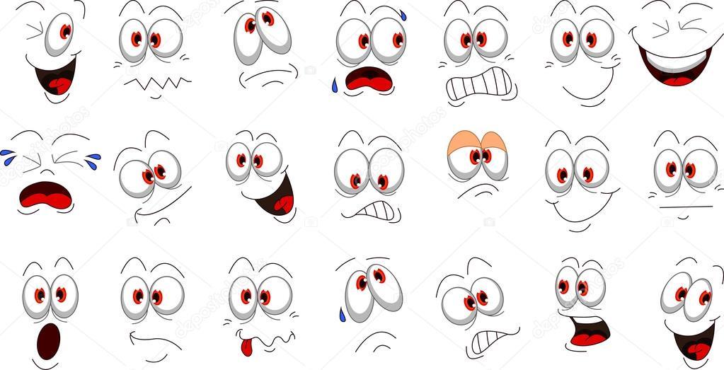 Favori de visage de dessin animé pour vous la conception — Image  JK57