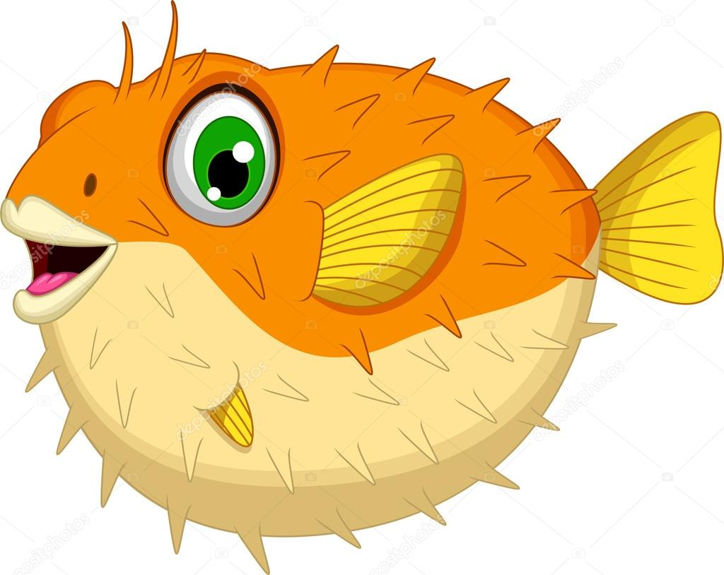 Puffer Fish Clipart Animated Fish Clipart Clipart Best