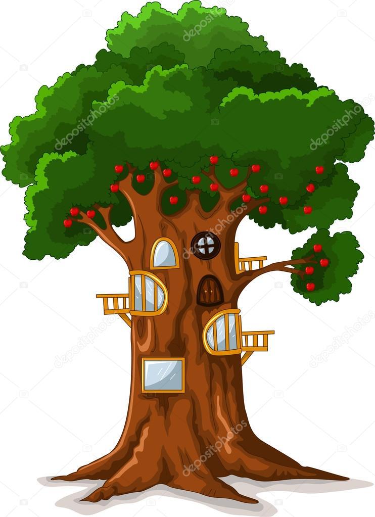 apple tree house cartoon