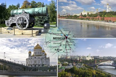 Sightseeing of Moscow