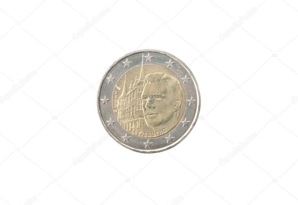 ルクセンブルクの記念 2 ユーロ ...