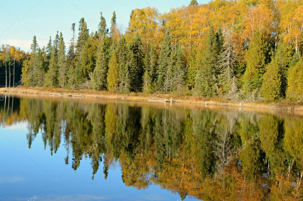 Pristine Wilderness Lake Reflections - Superior National Forest — Stock  Photo © Jeff16WC #89802300